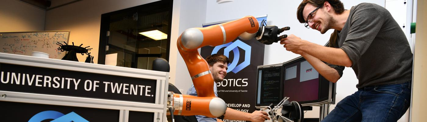 i-Botics: Open innovation centre for Research and Development in Interaction Robotics